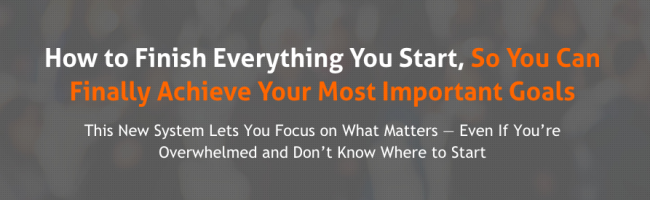 Asian Efficiency – Finisher's Fastlane