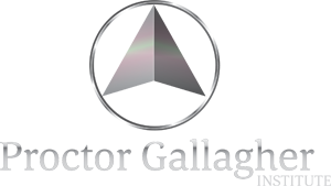 proctor gallagher institute logo footer