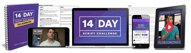 Harmon Brothers – 14-Day Script Challenge