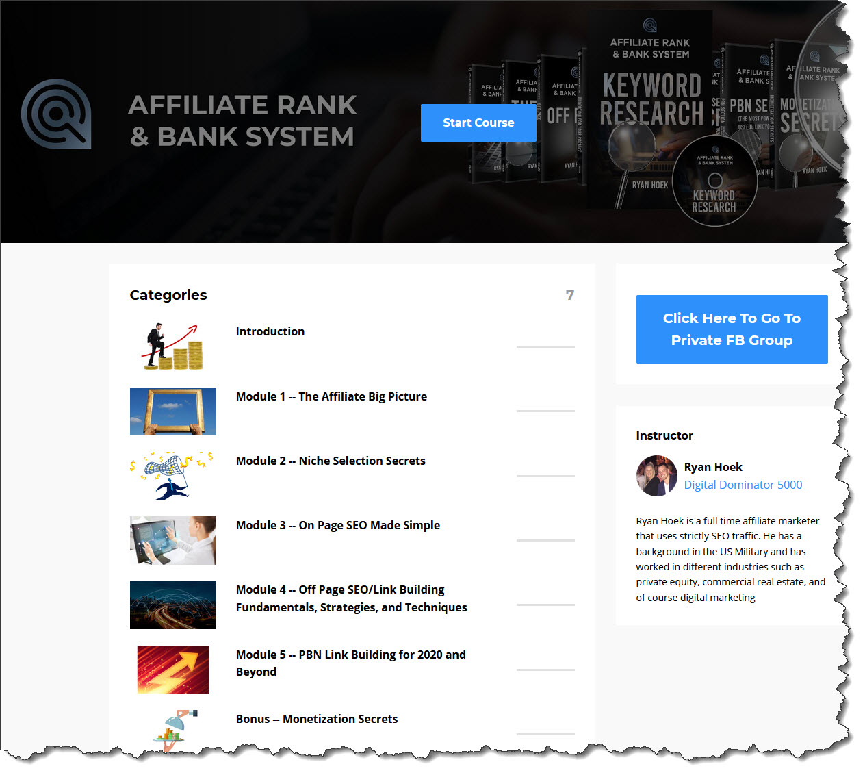 Affiliate Ranking & Banking System