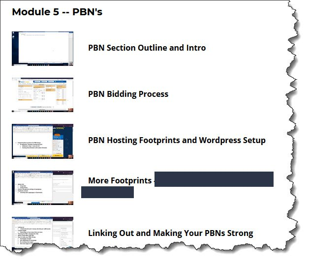 ARBS Module 5 PBN Link Building for 2020 and Beyond