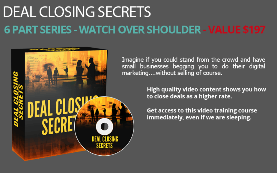Deal Closing Secrets Free Download