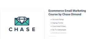 Chase Dimond – Email Marketing Course