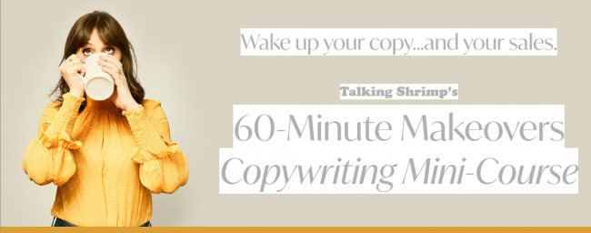 60-Minute‌ ‌Makeovers‌ ‌Copywriting‌ ‌Mini-Course
