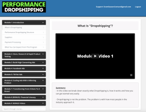Hayden Bowles – Performance Dropshipping - WSO Download
