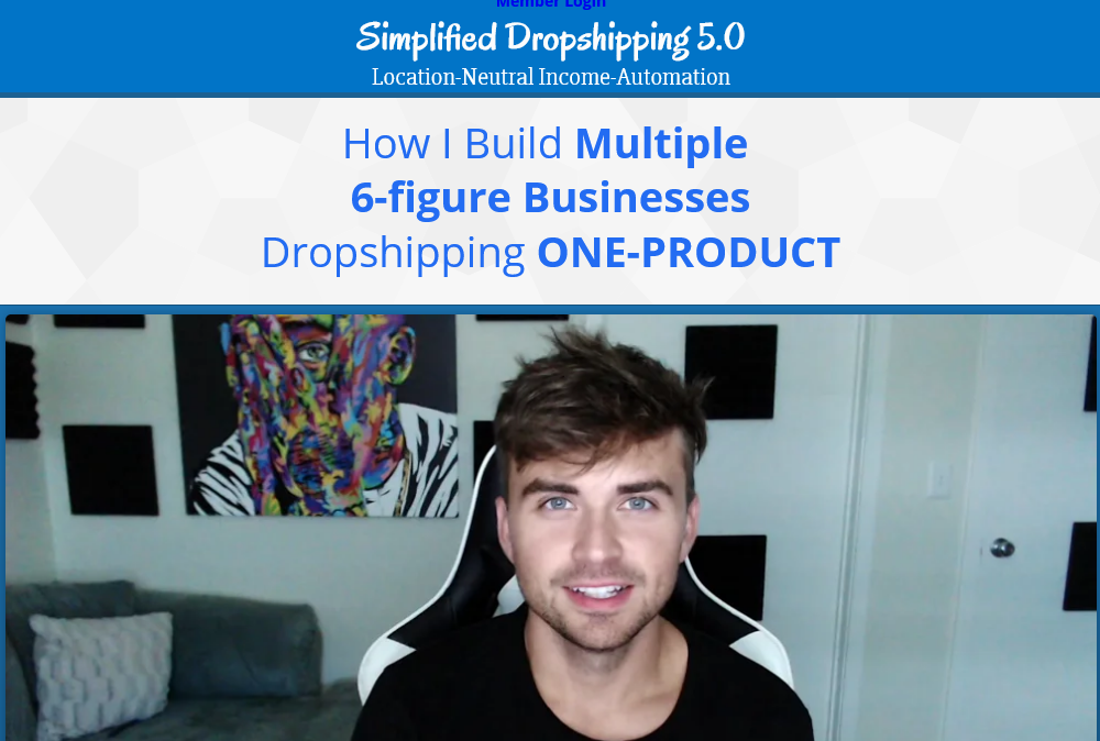Scott Hilse - Simplified Dropshipping 5.0
